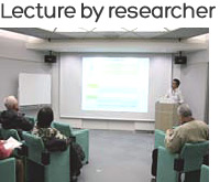 Lecture by researcher